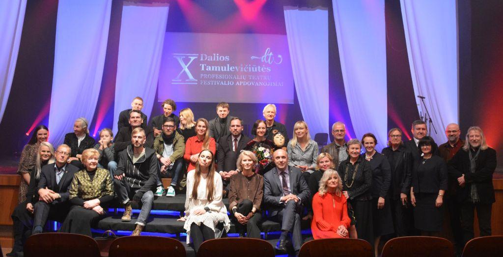 Trys Dalios Tamulevičiūtės teatrų festivalio apdovanojimai - Alytaus miesto teatrui 1