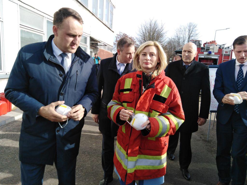 Gaisro katastrofos apimtame Alytuje – ministrų desantas 1