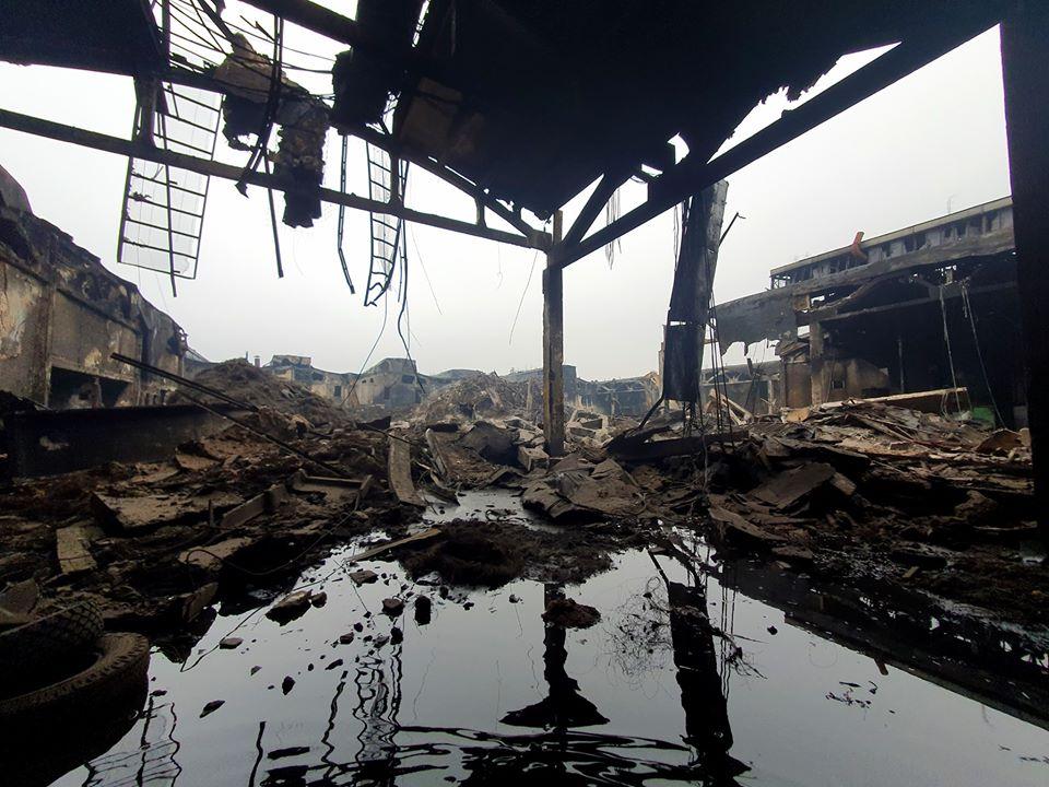 Komisijos verdiktas: gaisravietės vandenį ir atliekas tvarkyti nedelsiant 1