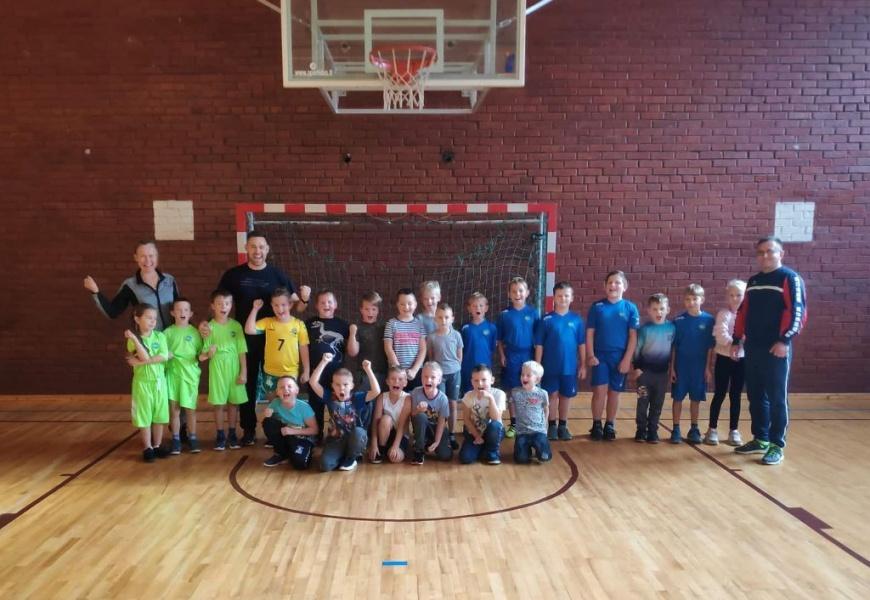 Projektas atvėrė galimybes sportuoti kaimiškų vietovių vaikams