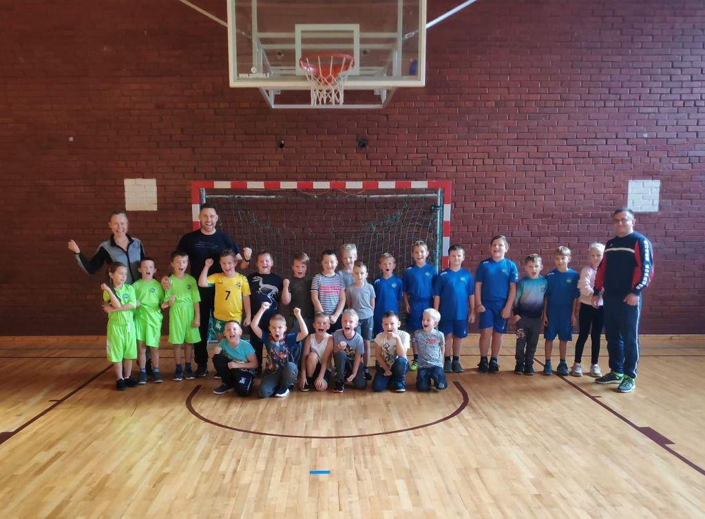 Projektas atvėrė galimybes sportuoti kaimiškų vietovių vaikams 1