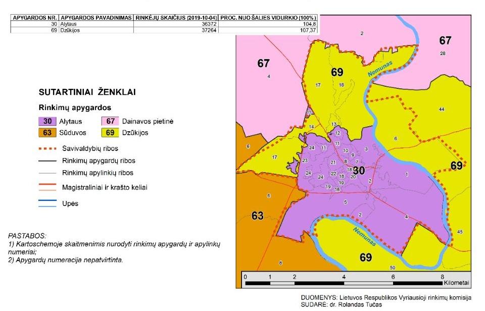 Perbraižytas Seimo rinkimų žemėlapis: pokyčiai laukia ir Alytaus rinkėjų 2