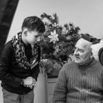 Fotografijos studentai pradžiugino globos namų senjorus 7