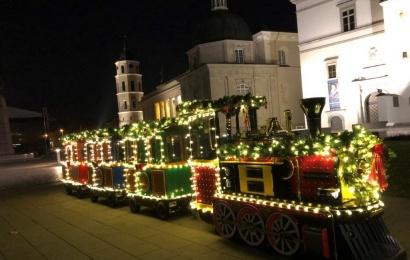 Kalėdų traukinukas atvyksta į Dzūkiją!