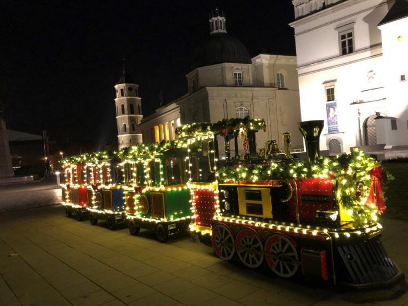 Kalėdų traukinukas atvyksta į Dzūkiją! 1