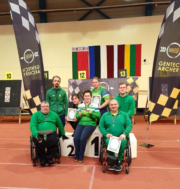 Keturi Baltijos šalių čempionato medaliai - Alytaus lankininkams 1