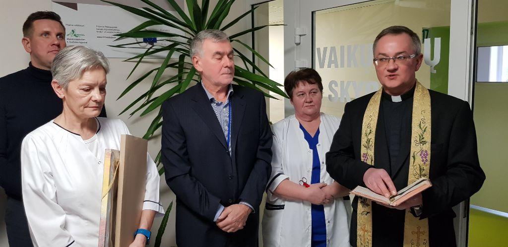 Atnaujintam Alytaus ligoninės Vaikų ligų skyriui linkėta kuo mažiau pacientų 3