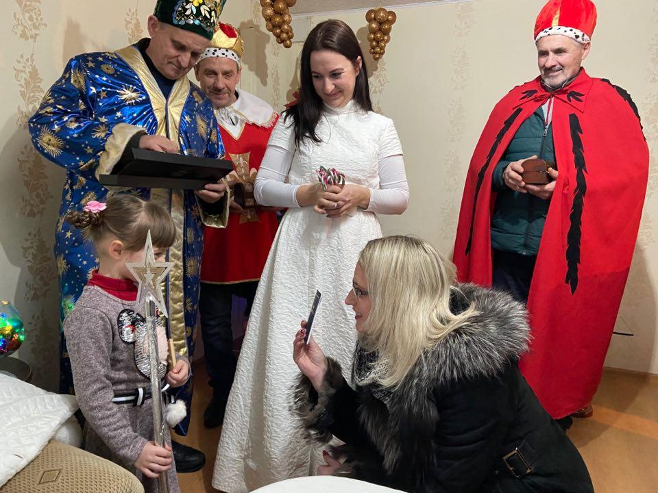 Trys karaliai Žagarių bendruomenei atnešė karališkų dovanų ir svarbią žinią 4