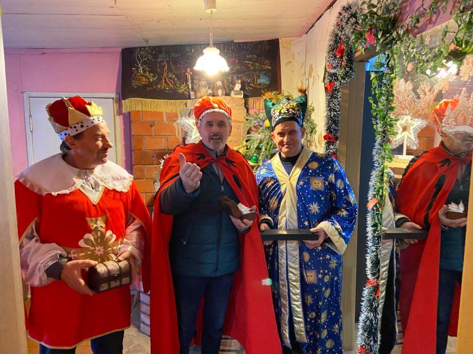 Trys karaliai Žagarių bendruomenei atnešė karališkų dovanų ir svarbią žinią 1