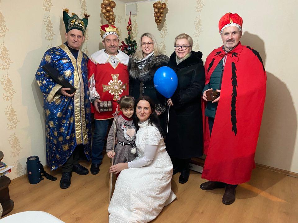 Trys karaliai Žagarių bendruomenei atnešė karališkų dovanų ir svarbią žinią 2