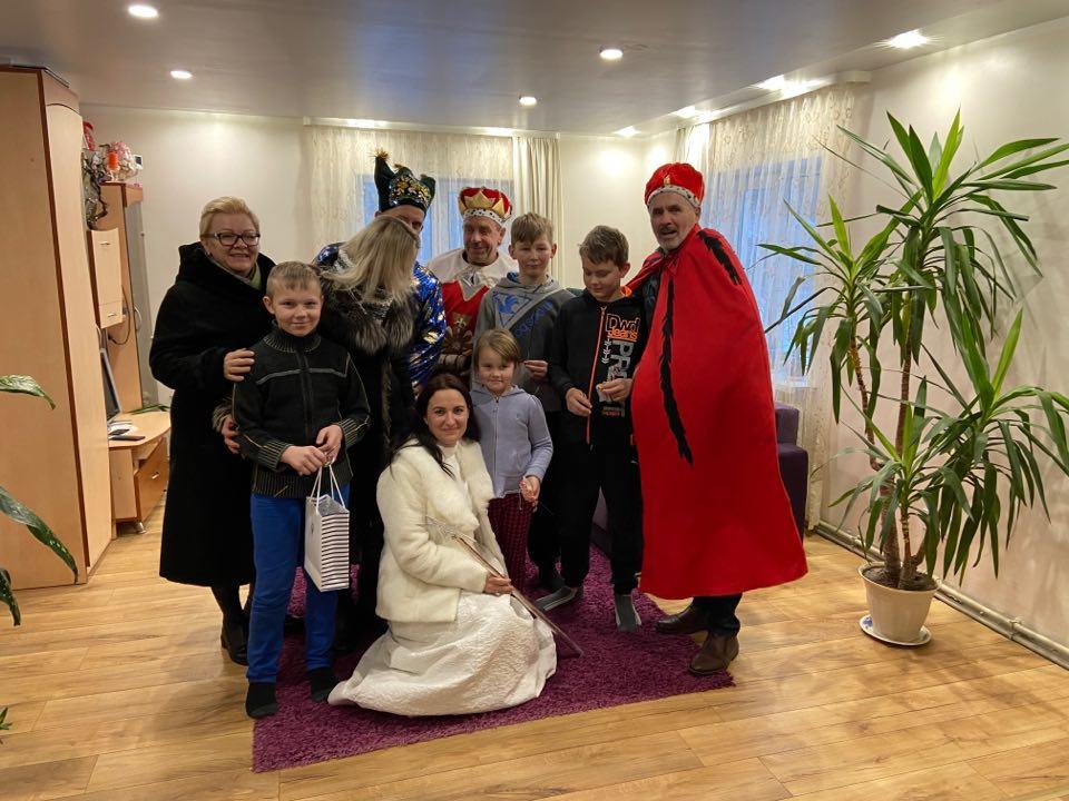 Trys karaliai Žagarių bendruomenei atnešė karališkų dovanų ir svarbią žinią 5