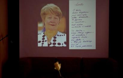 Stasei Nedzinskienei skirtoje popietėje – jautriausi prisiminimai ir filmo pristatymas