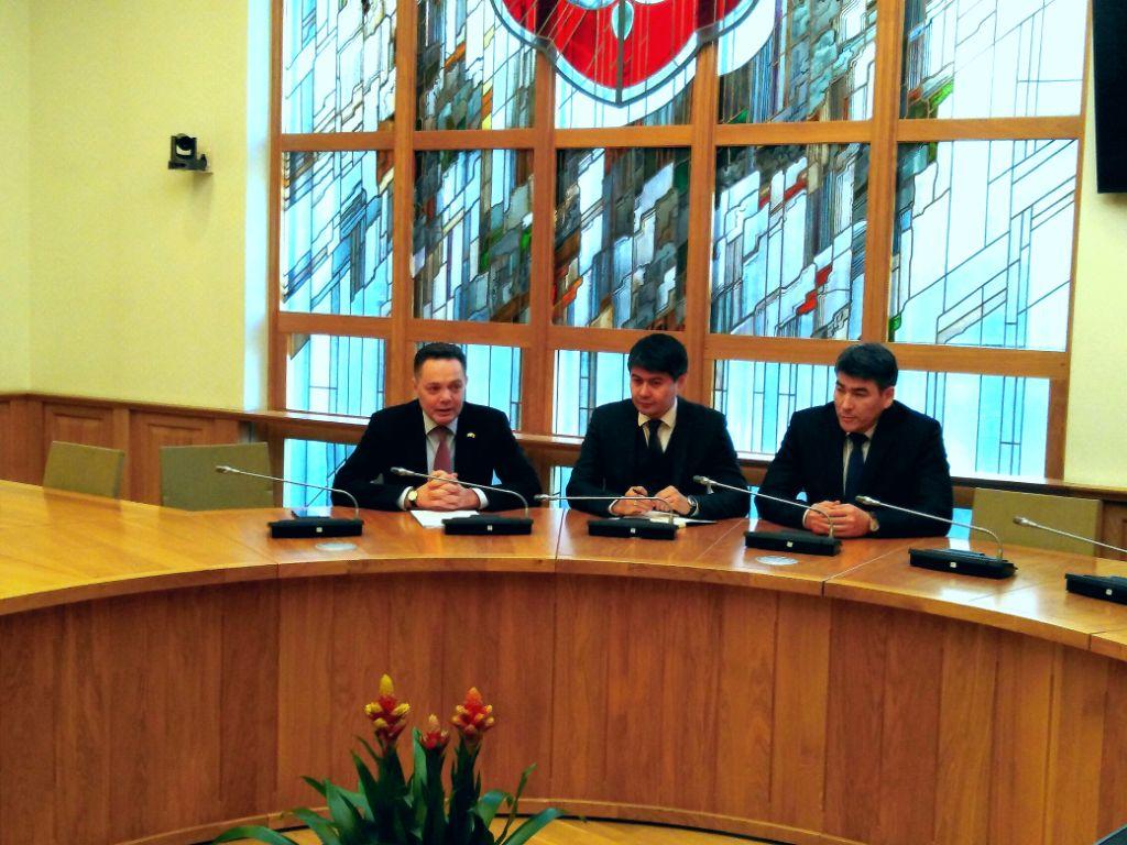 Ambasadorius Alytaus verslininkams atvėrė duris į Kazachstano rinką 1
