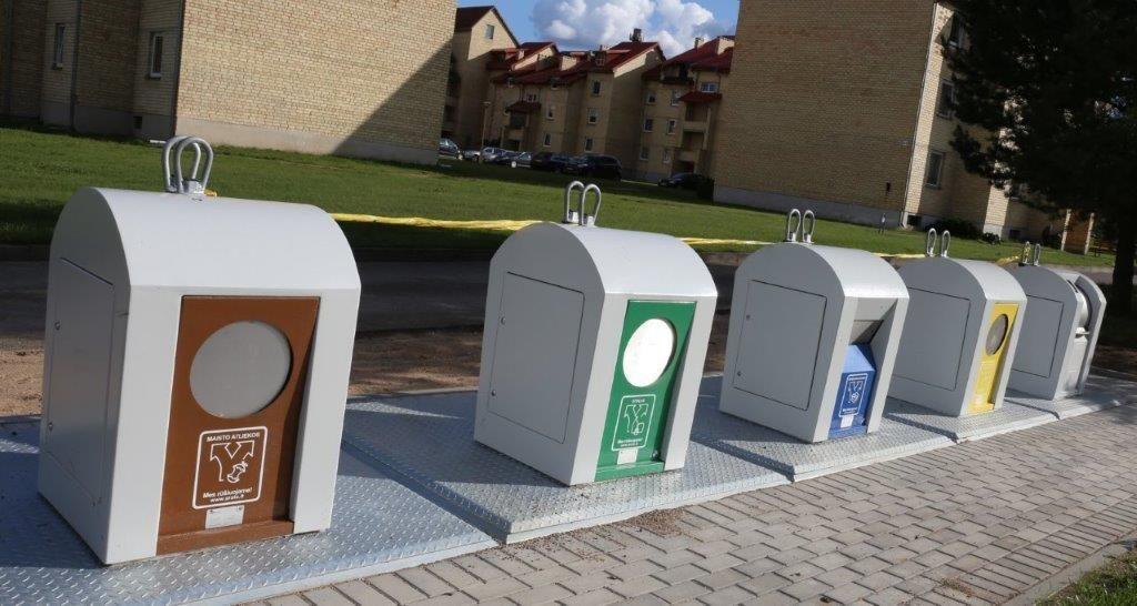 Kam reikalingas raktas nuo atliekų konteinerio? Nes tai apsimoka! 1