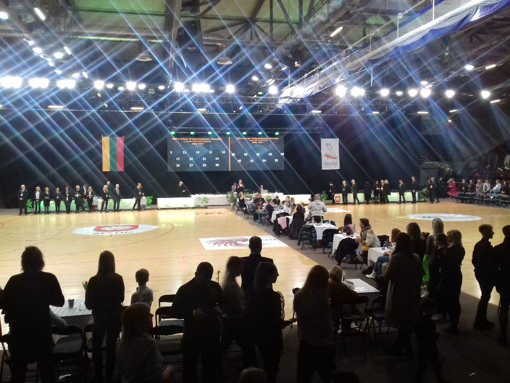 Alytuje praūžusiame Lietuvos dešimties šokių čempionate išrinkti nugalėtojai 2
