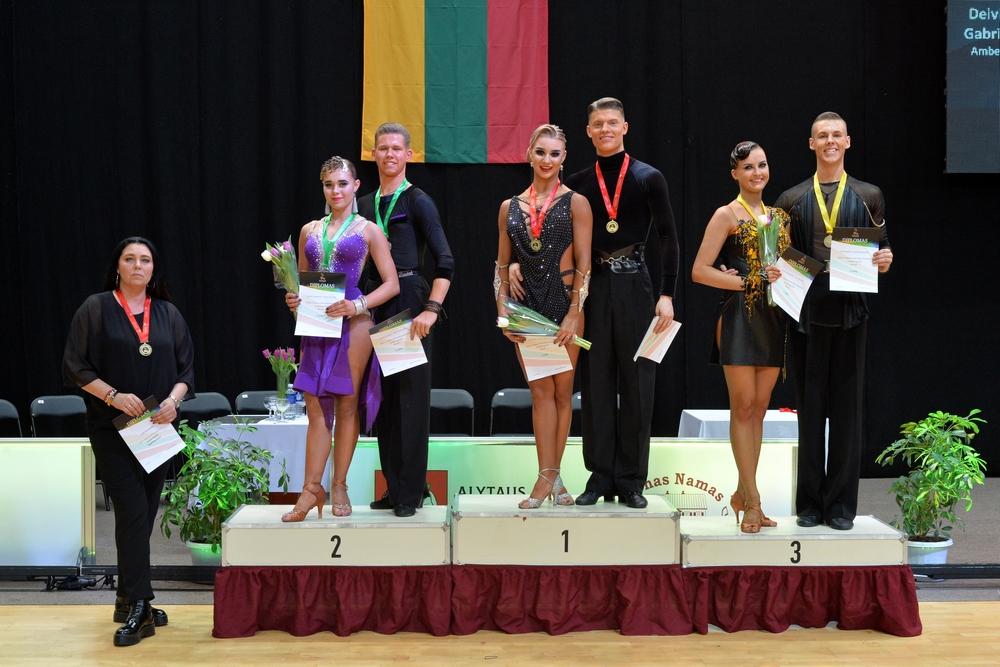 Alytuje praūžusiame Lietuvos dešimties šokių čempionate išrinkti nugalėtojai 3