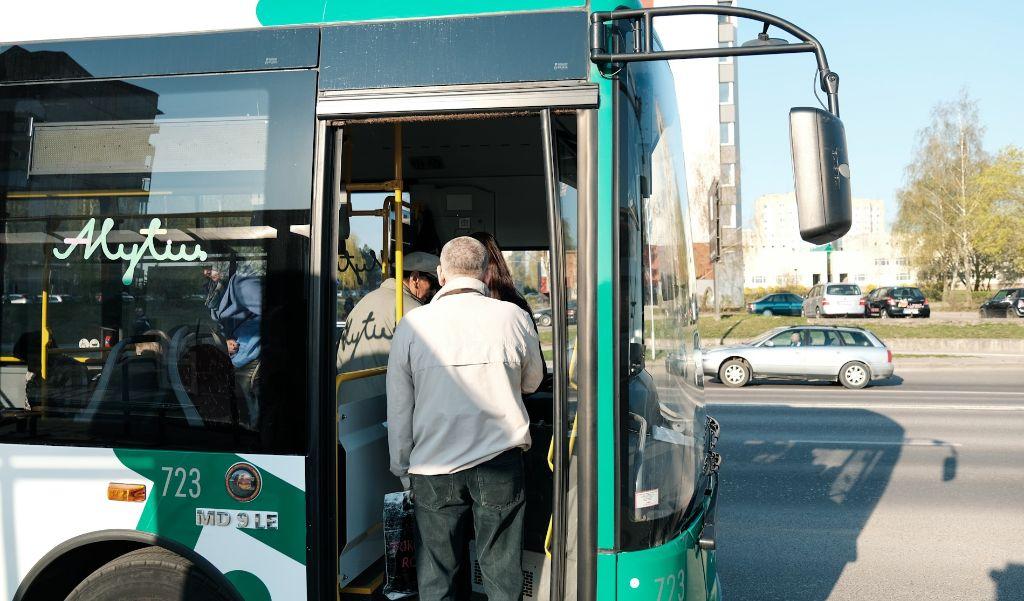 Atnaujintam Alytaus transportui – daugiau nei metai: kokie rezultatai? 1