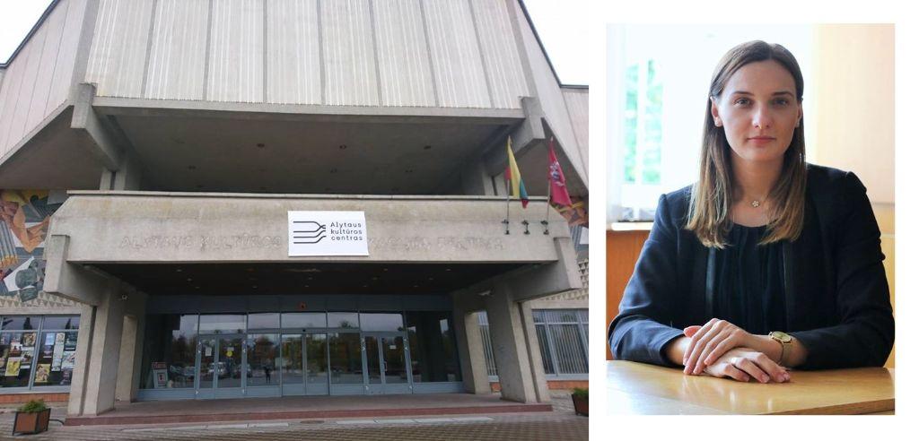 Alytaus kultūros centro vadovė palieka pareigas ir keliasi į Kauną 1
