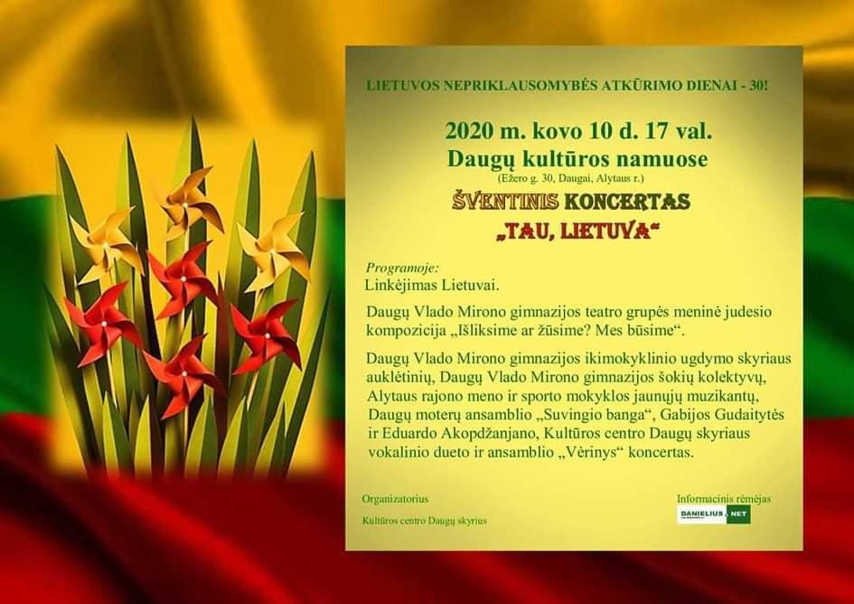 Lietuvos Nepriklausomybės jubiliejų iškilmingai minės visa Dzūkija 3