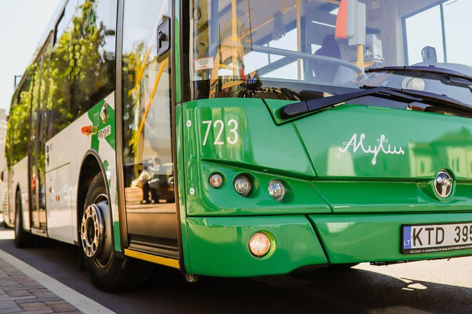 Alytaus viešajame transporte - papildomos saugumo priemonės 1