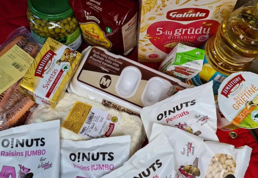 Nemokamą maitinimą gaunančius Alytaus vaikus pasiekė pirmieji maisto daviniai