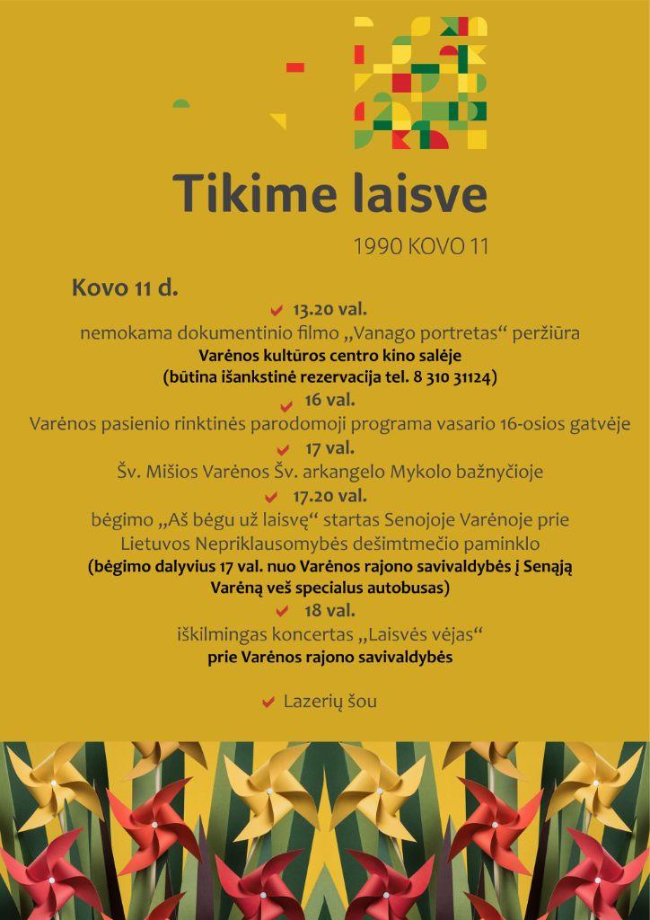 Lietuvos Nepriklausomybės jubiliejų iškilmingai minės visa Dzūkija 6