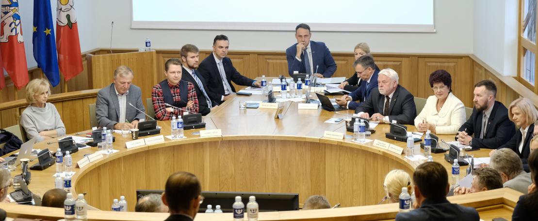 Šaukiamas Alytaus miesto tarybos posėdis 9