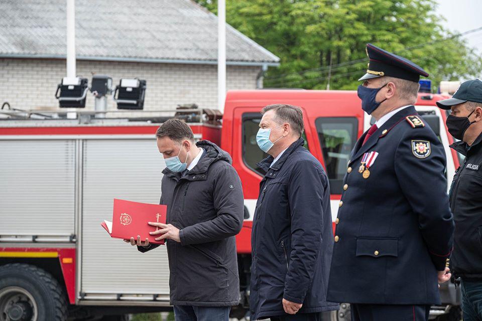 Alytaus ugniagesiams - padėkos už nepriekaištingą ir pavyzdingą tarnybą 2