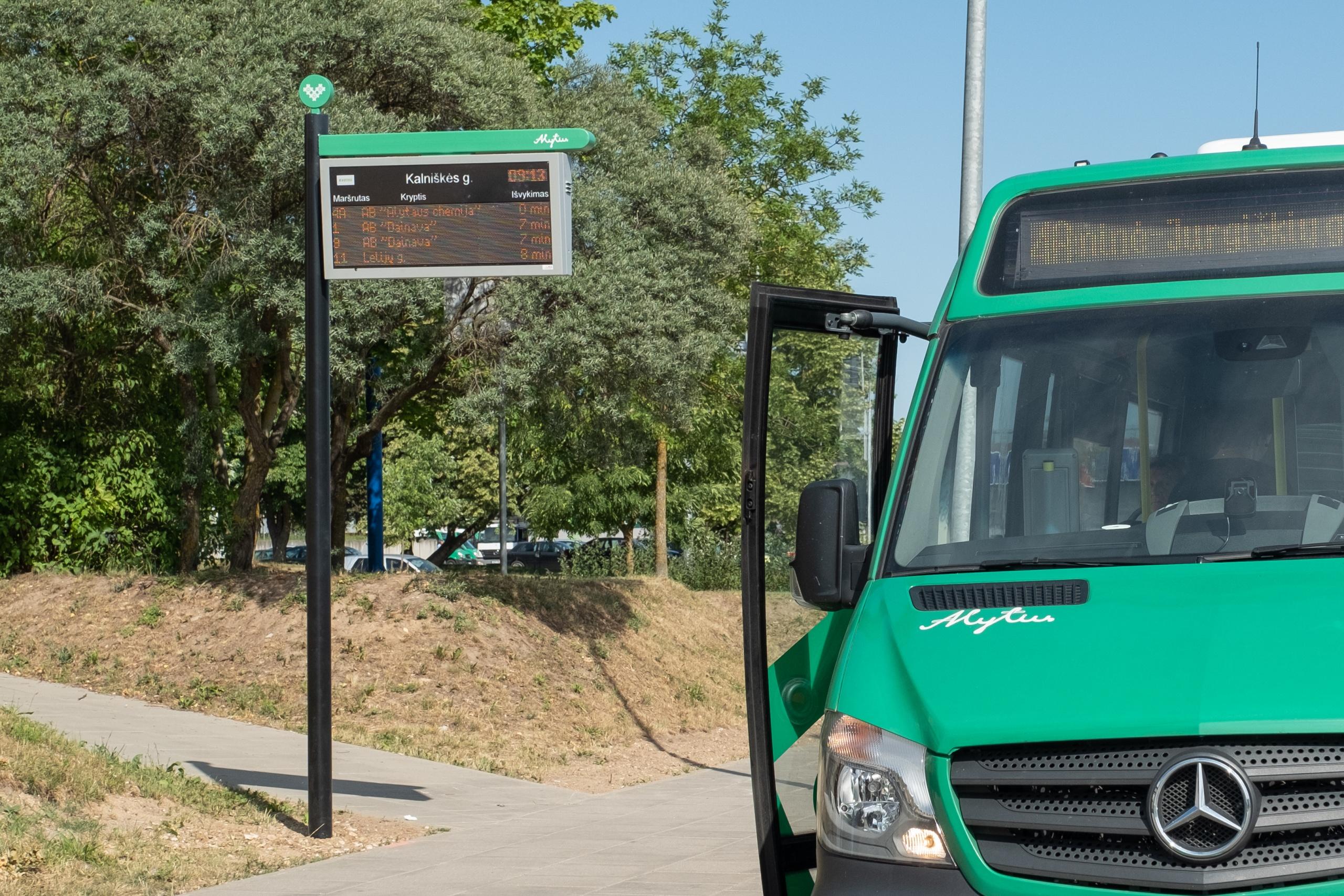 Ilginamas Alytaus miesto viešojo transporto darbo laikas 1