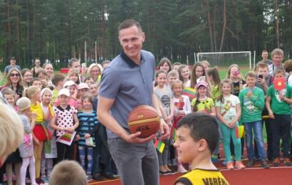Kaimiškų vietovių vaikų laukia įsimintina vasara – treniruosis su žymiais sportininkais