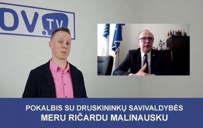 Pokalbis su Druskininkų savivaldybės meru Ričardu Malinausku