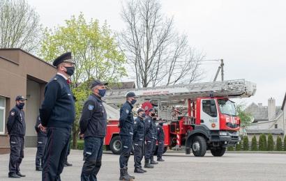 Gaisrą gesinusiems ugniagesiams – premijos iš JAV