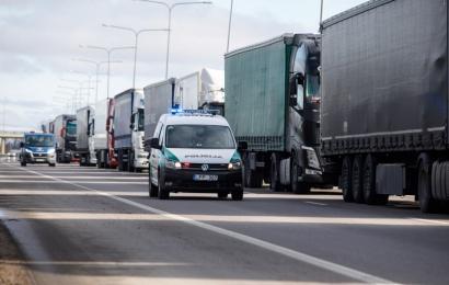 Kitą savaitę atkuriamas laisvas judėjimas tarp Lenkijos ir Baltijos šalių