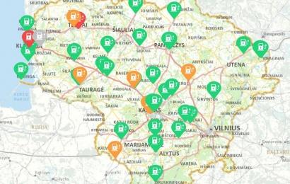Elektromobilių įkrovimo stotelės – ir Alytaus rajone
