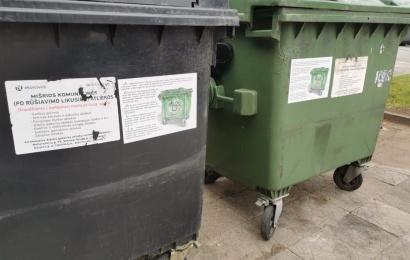 Alytų palieka senieji atliekų konteineriai – jie savo jau atitarnavo