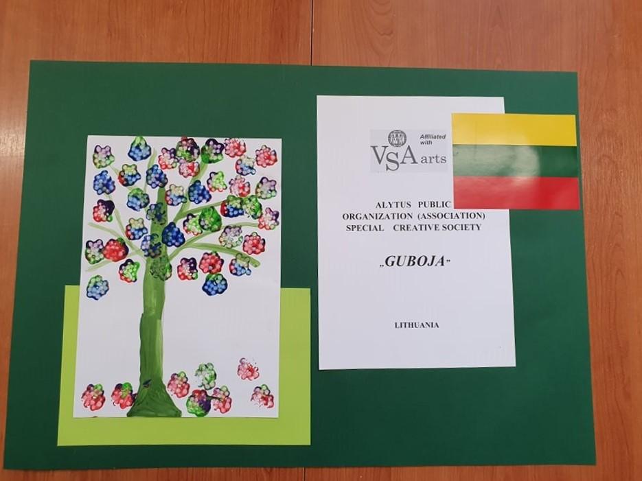 Neįgalių vaikų piešiniai bus eksponuojami Danijoje 1