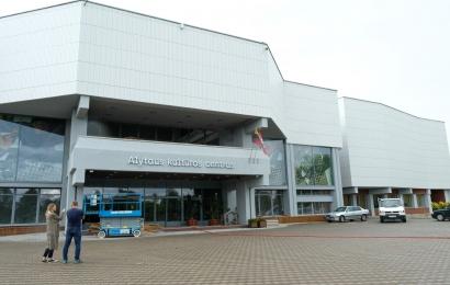 Alytaus kultūros centras rengiasi naujais rūbais