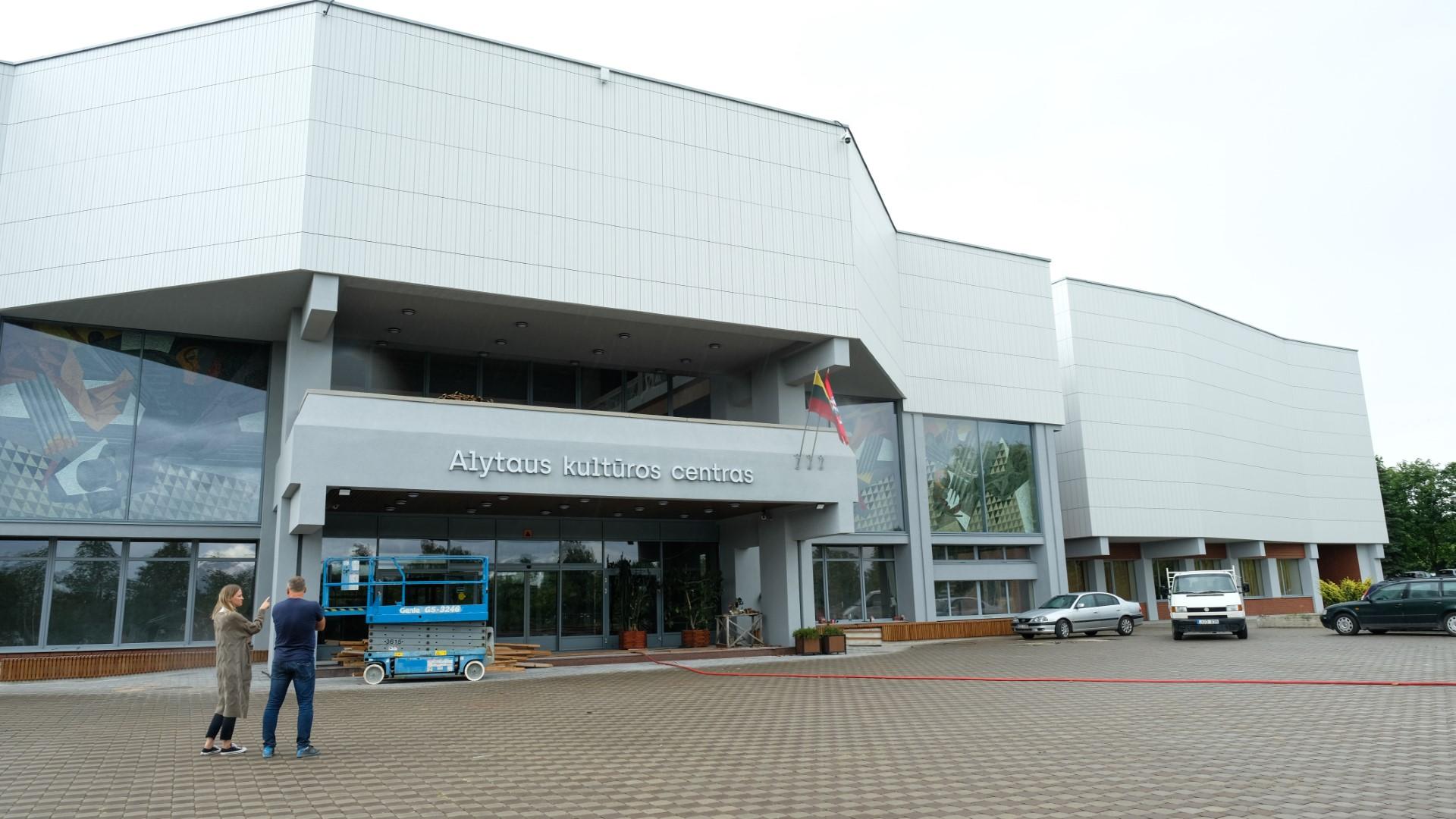 Alytaus kultūros centras rengiasi naujais rūbais 1
