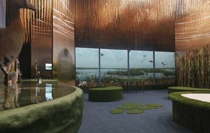 Žuvinto biosferos rezervate – lankytojų centras su unikaliu gamtos pasauliu ir pažintiniu taku