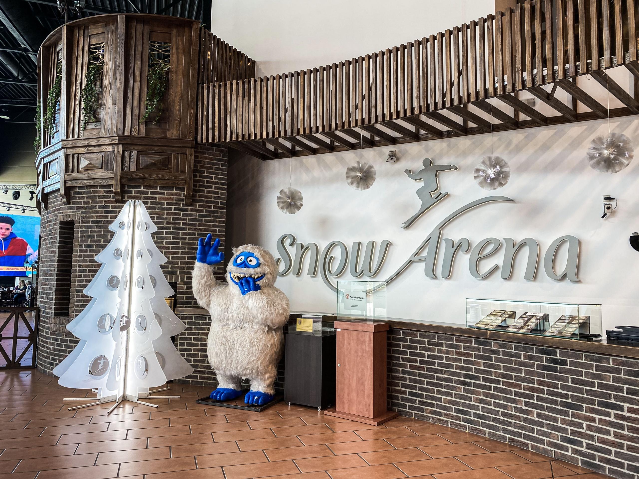 """Duris lankytojams atvėrė renovuota """"Snow arena"""": siūlo gausybę naujovių 14"""