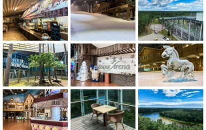 """Duris lankytojams atvėrė renovuota """"Snow arena"""": siūlo gausybę naujovių"""