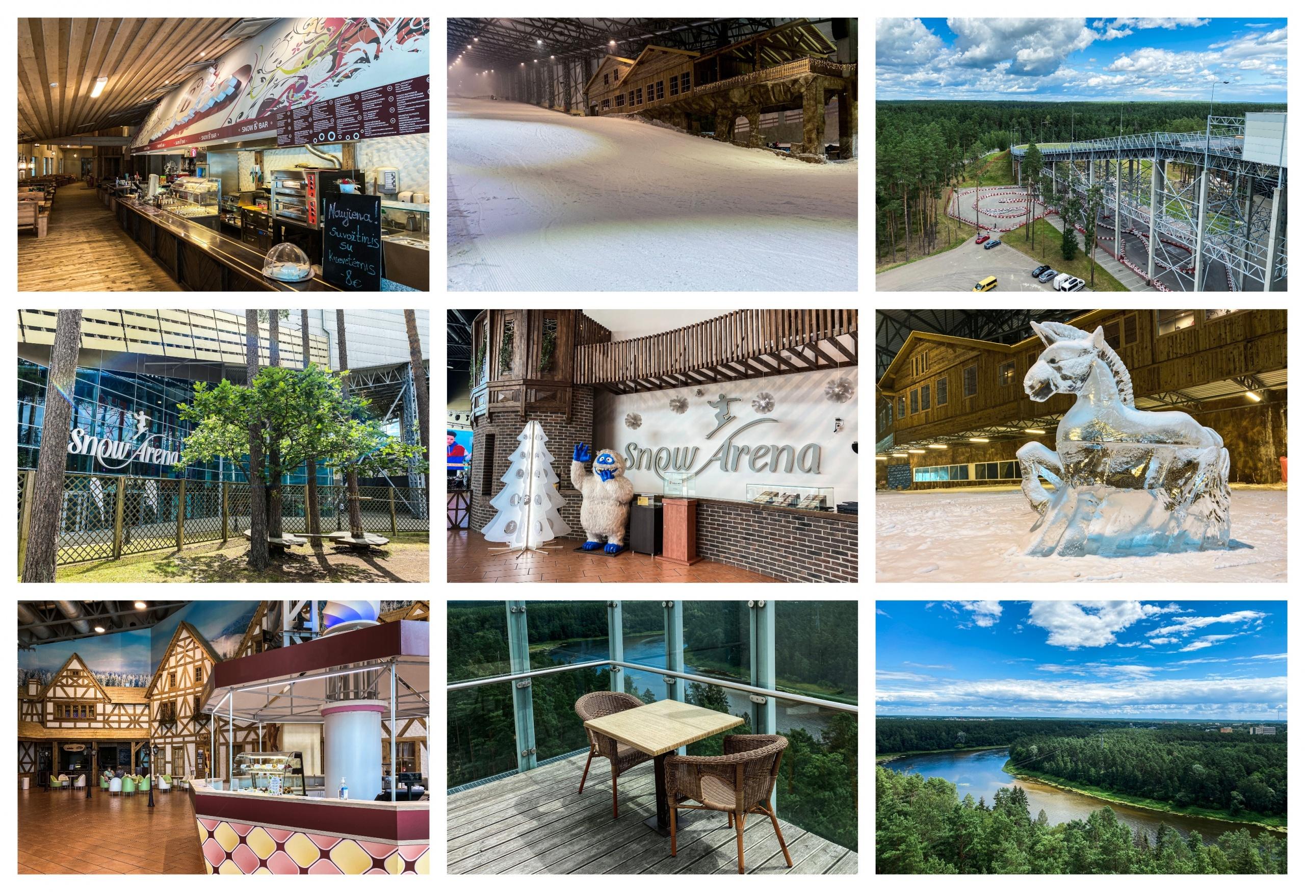 """Duris lankytojams atvėrė renovuota """"Snow arena"""": siūlo gausybę naujovių 1"""