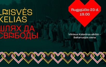 Vykstantiems link Baltarusijos laisvės kelio – savivaldybės pagalba