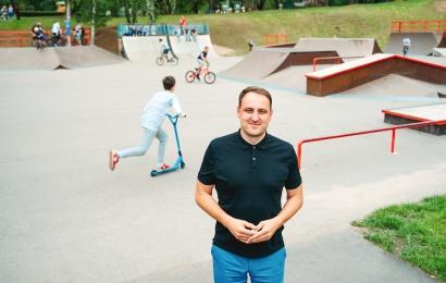 Alytaus miesto meras Nerijus Cesiulis: Jaunimo parkas – vieta visai šeimai