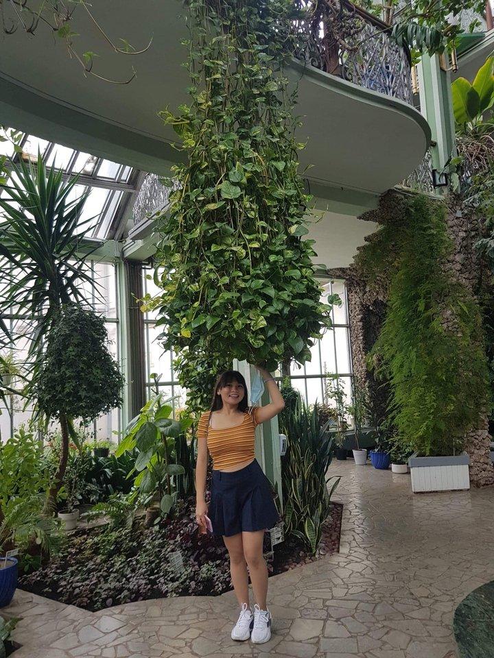 Alytuje apsigyvenusi filipinietė svajoja įkurti botanikos sodą 6