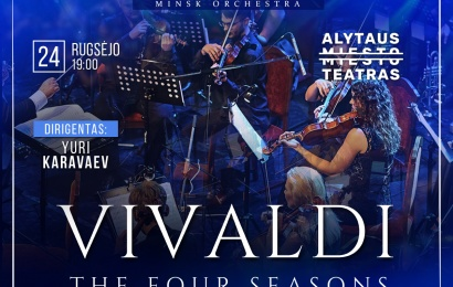 """Alytaus miesto teatro scenoje – Vivaldi """"Metų laikai"""""""