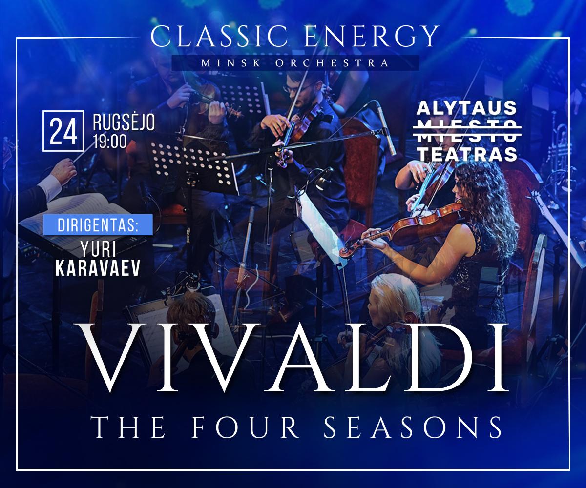 """Alytaus miesto teatro scenoje – Vivaldi """"Metų laikai"""" 1"""