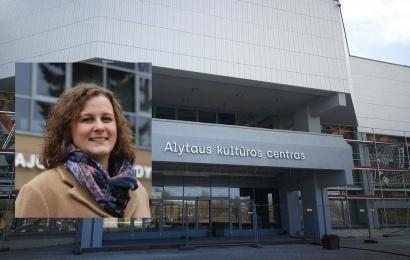 Alytaus kultūros centras turi naują vadovę 41