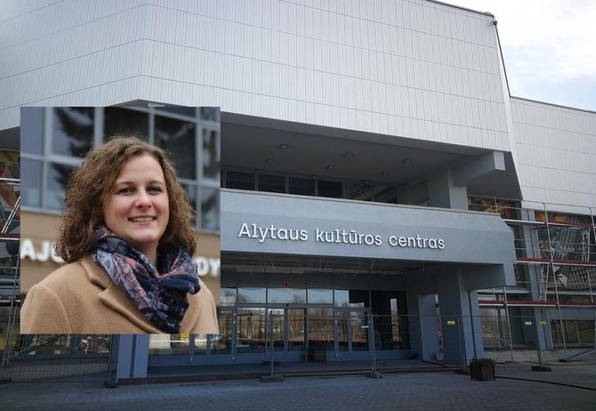 Alytaus kultūros centras turi naują vadovę