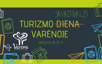 Turizmo diena Varėnoje – dovanos, nemokamos ekskursijos ir gausybė patirčių